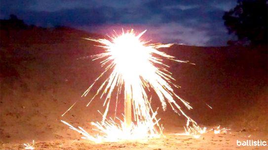 Lehigh Defense Flash Tip Ammo, ammo that sparks