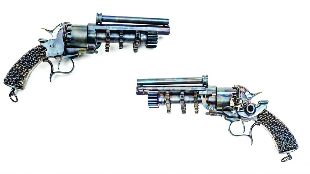 Odin's Workshop, custom black powder pistol, wheelgun