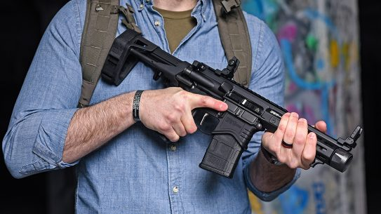 Springfield SAINT Edge PDW Pistol review, pack