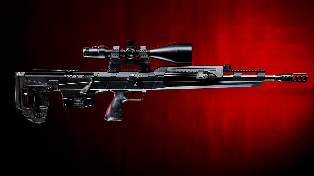 Tec Target Schneider TTS Xceed sniper rifle, bullpup, right