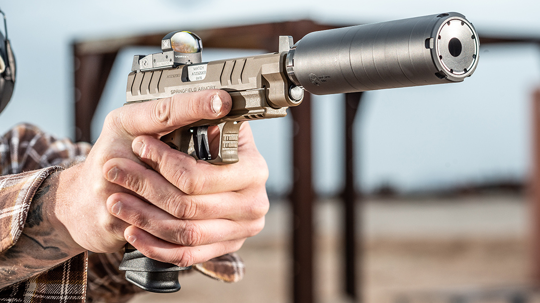Springfield Armory XD-M Elite Tactical OSP Pistol, range