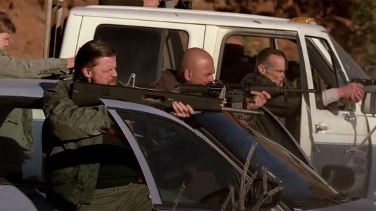 Breaking Bad Shootout AA-12 Shotgun, Hank Shootout