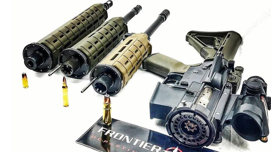 Frontier Tactical War Lock, Multi-Caliber System
