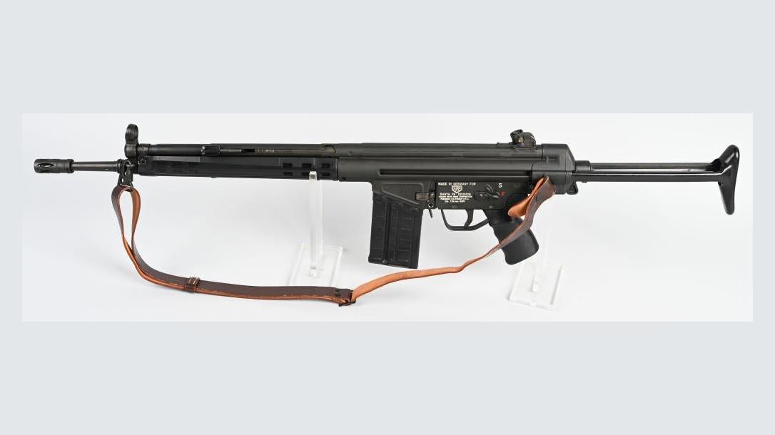 Heckler & Koch HK41 Rifle, left