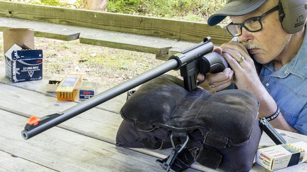 Henry AR-7 Survival Rifle, takedown rifle, test