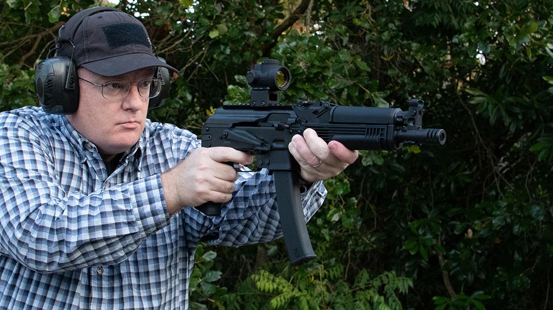 Kalashnikov KP-9 review, test, 9mm pistol, lead