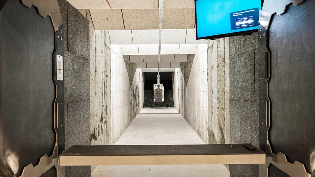 Indoor Shooting Range, target