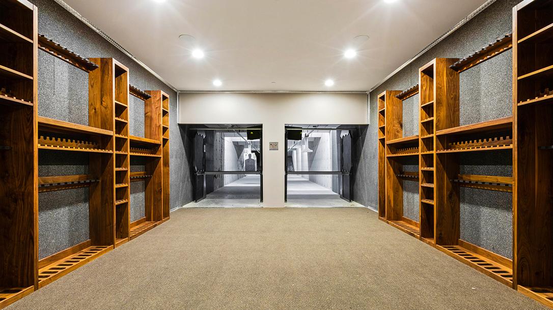 Montana Mega Mansion, Indoor Shooting Range, two lanes