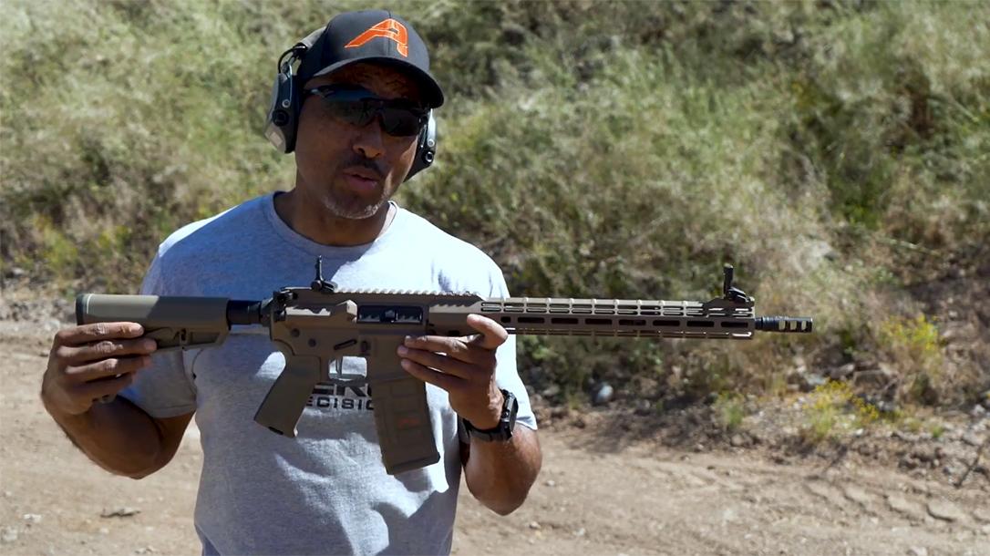 Project AR, building an AR-15, lead