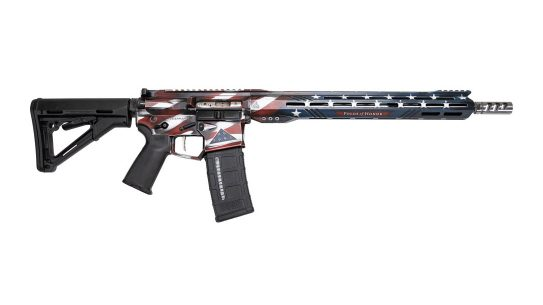RISE Armament Legacy Rifle review, right