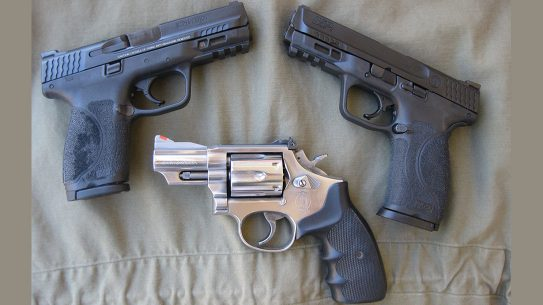Smith & Wesson Model 66, Smith & Wesson M&P M2.0 Pistols, Bug out