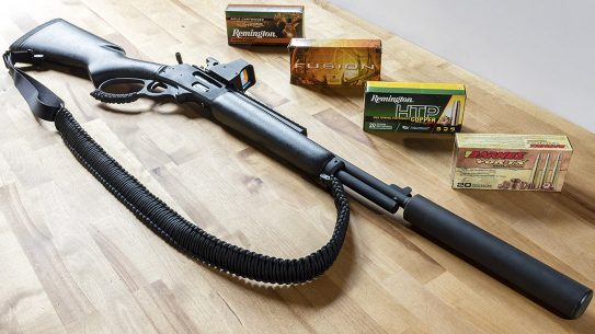Marlin 336 Dark lever-action rifle review, lead