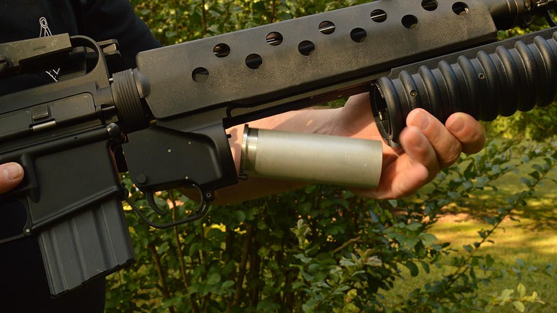 37mm ammo, grenade launcher ammo