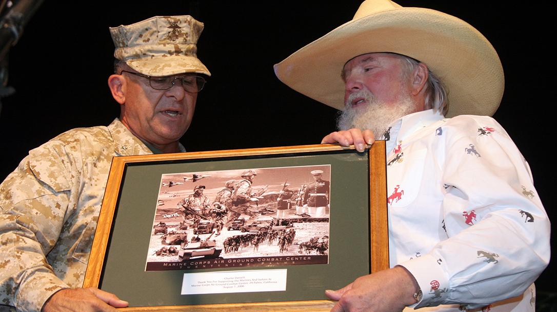 Charlie Daniels death, Second Amendment, award