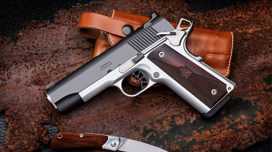 Springfield Ronin Operator 4.25 inch, 1911 pistol, lead