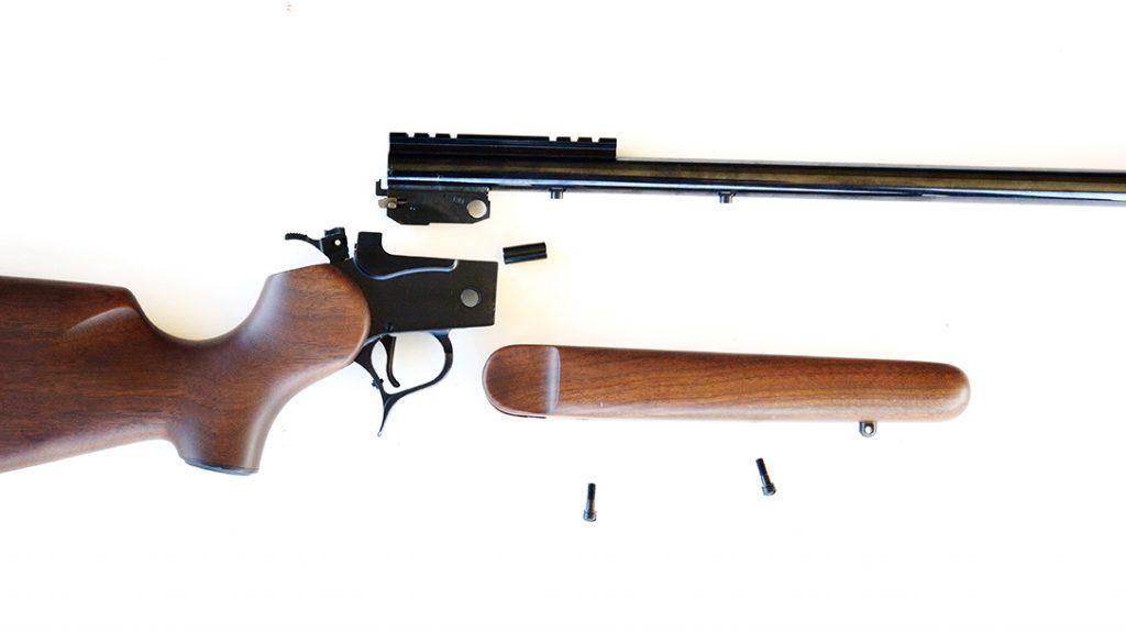 diy gun build, hunting, apart
