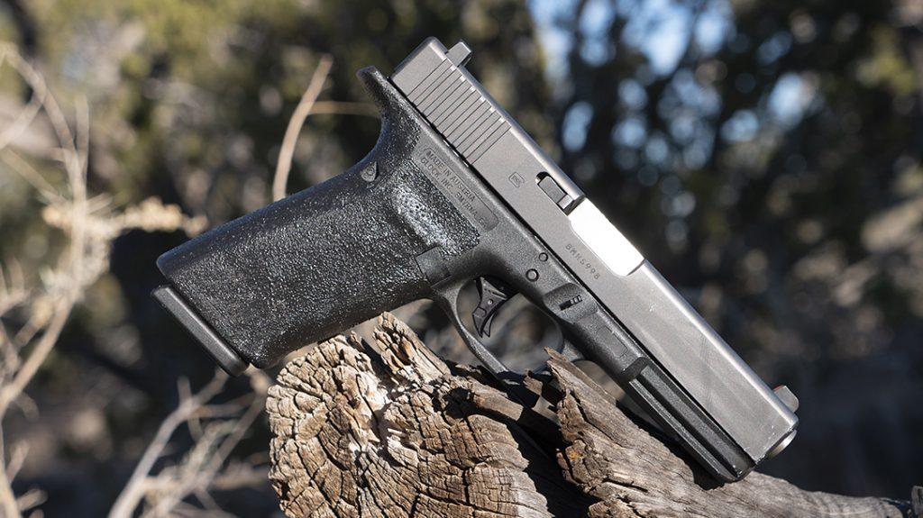 Glock 20 Gen 4 10mm Pistol review, G20, right