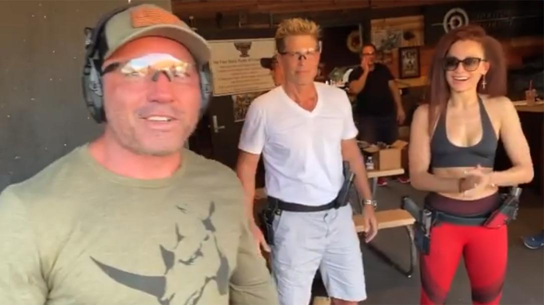 Rob Lowe Guns Taran Tactical, Joe Rogan shooting