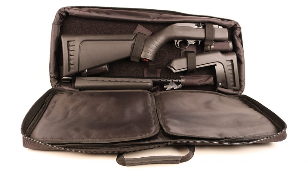 rifle bag, bugout rifle, .22 LR Rifle