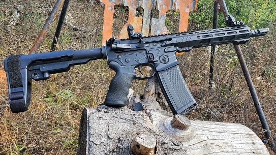 3rd Gen Tactical UCP Ultralight Combat Pistol, AR Pistol, solo