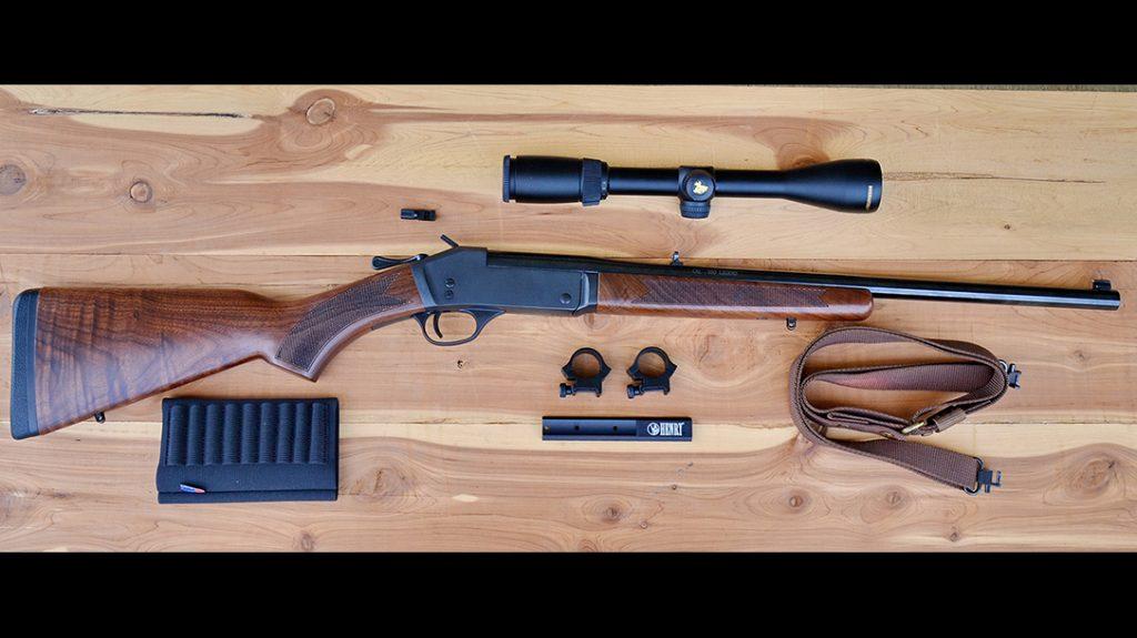 Henry Single Shot rifle review, 350 legend, apart