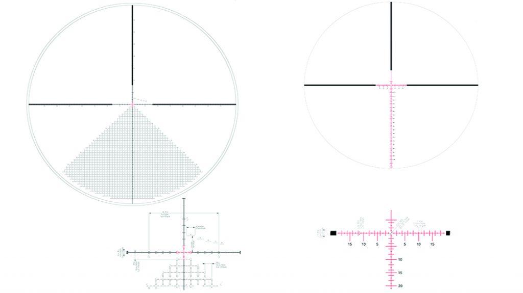 Mils vs MOA, reticles