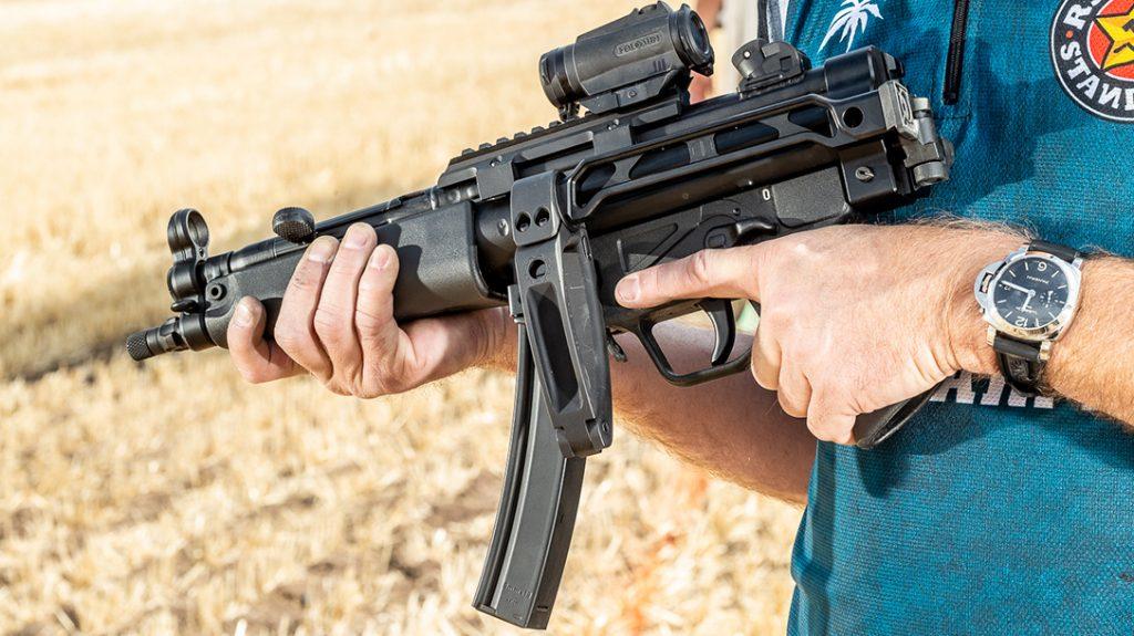 Century Arms AP-5, Century Arms AP5, HK MP5 clone, HK MP-5, folded
