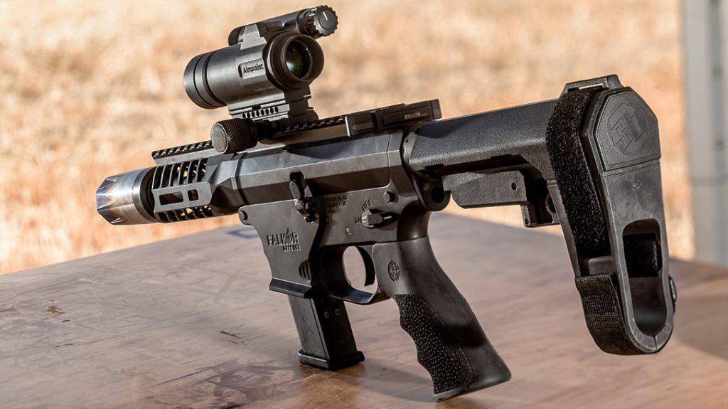 Falkor FG-9 Pistol, Pistol Caliber Carbine, PCC, range