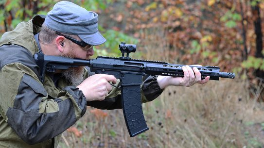 Genesis Arms Gen-12 upper, AR Shotgun review, lead