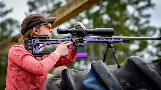 Lara Spanic Competitive Shooter, Precision Shooting, 2024 Olympics, rifle