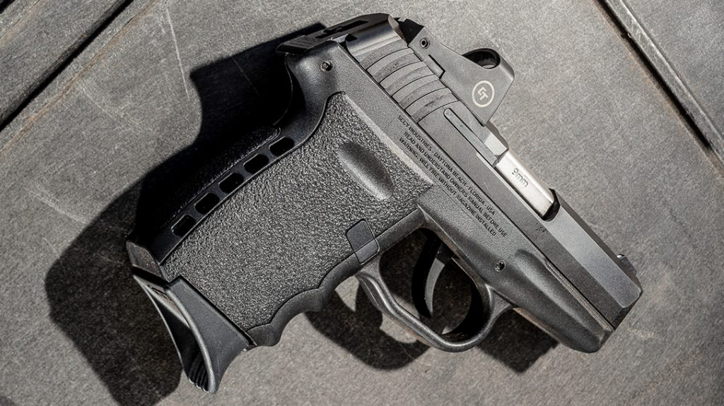 SCCY CPX-2 pistol review, right