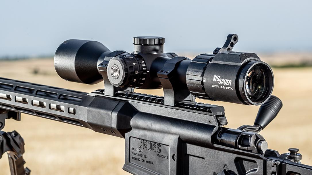 SIG SIERRA6BDX rifle scope, SIG Sauer SIERRA6 BDX, review, lead