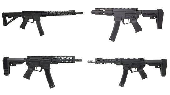 PSA ARV, Palmetto State Armory AR-V, Pistol, Rifle