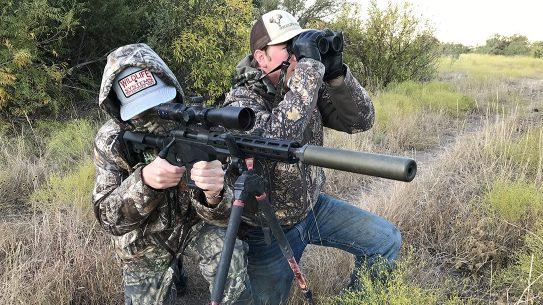 Remington 700 CP braced pistol review, 6.5 Creedmoor, Texas