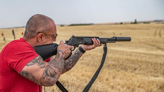 SilencerCo Hybrid 46 Suppressor test, lead