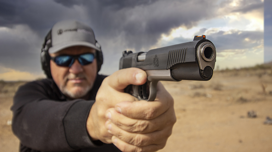 Springfield Ronin 10mm 1911, Springfield Armory Ronin Operator pistol, test