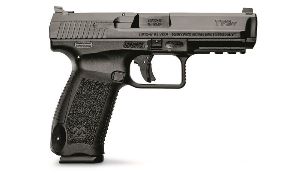 Canik TP9SF pistol, best budget concealed carry handgun