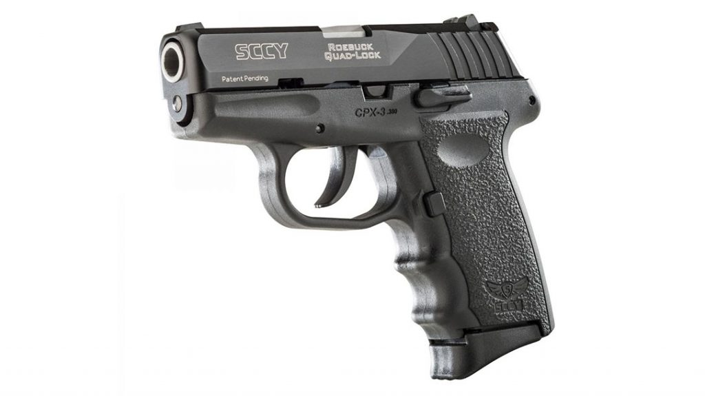 SCCY CPX-3 pistol, best budget concealed carry handgun