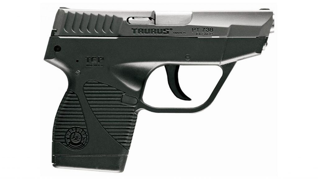 Taurus 738 TCP pistol, best budget concealed carry handgun