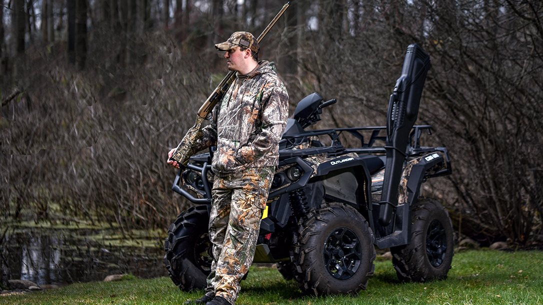 Can Am Outlander 1000R ATV review, hunting