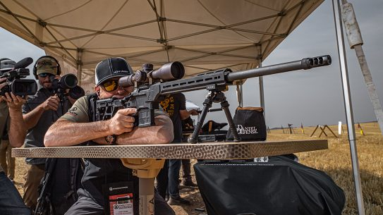 Daniel Defense Delta 5 Pro rifle review, range test, rendezvous