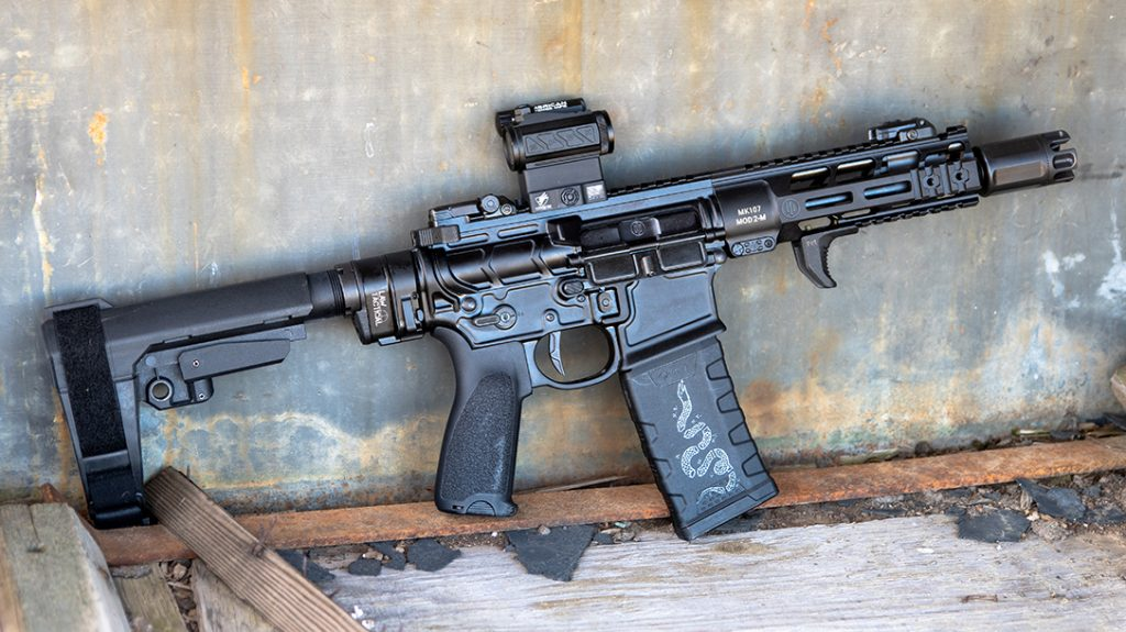 ar pistol 5.56/223, right, Primary Weapons Systems Diablo