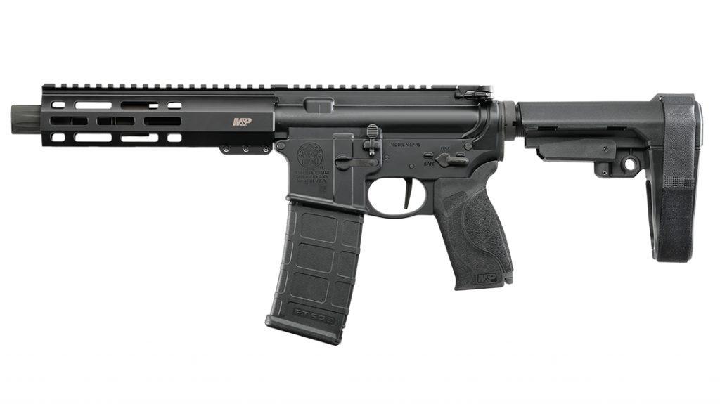 Smith & Wesson M&P15 Pistol, AR Pistol, left