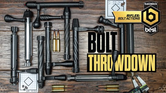 Springfield Armory Waypoint, Best Bolt-Action Rifle, bolts