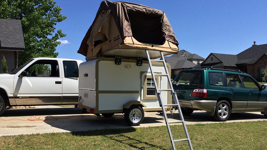 DIY Teardrop Camper, Teardrop Trailer camper