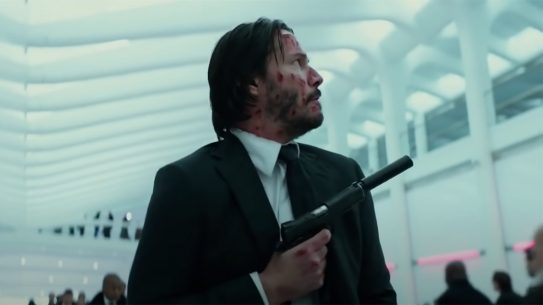 John Wick 2 suppressor scene