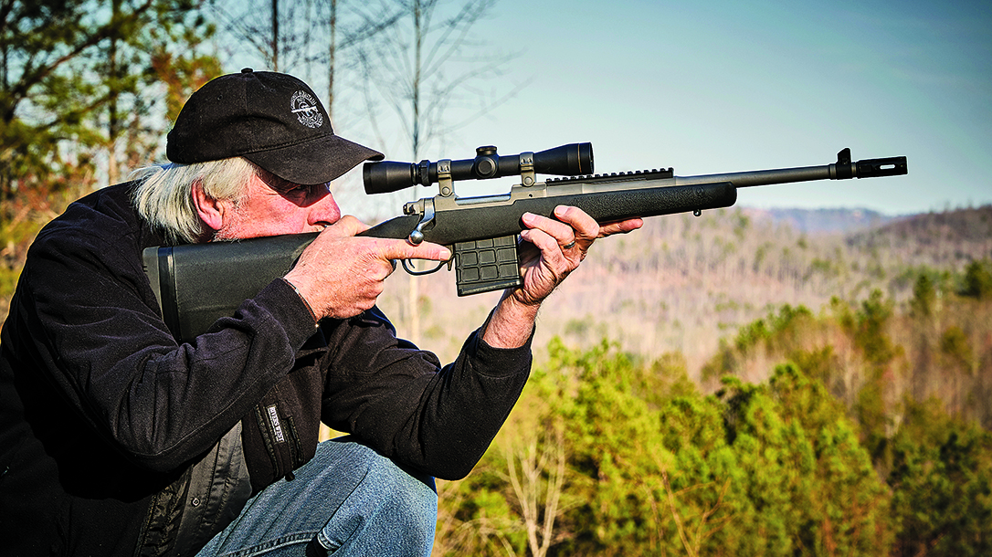 Ruger Gunsite Scout Rifle 308, lead
