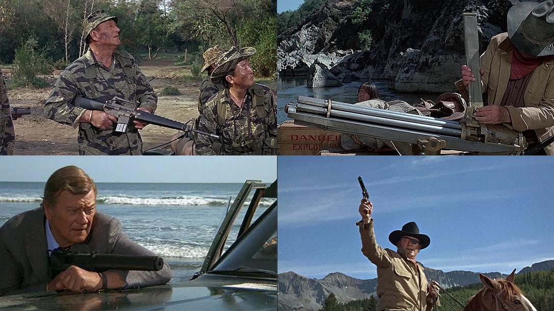 John Wayne Guns, movies