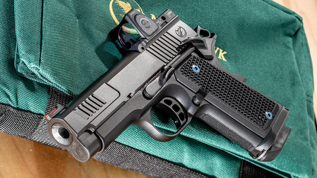 nighthawk counselor 9mm pistol, rendezvous, lead