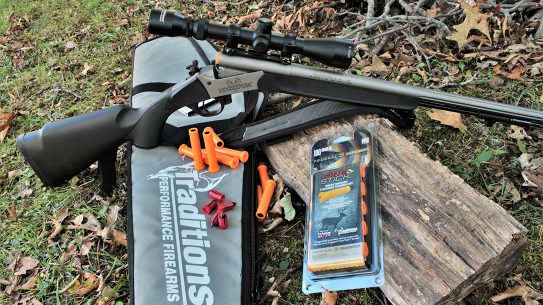 Traditions Nitrofire Muzzleloader, Federal Firestick, range